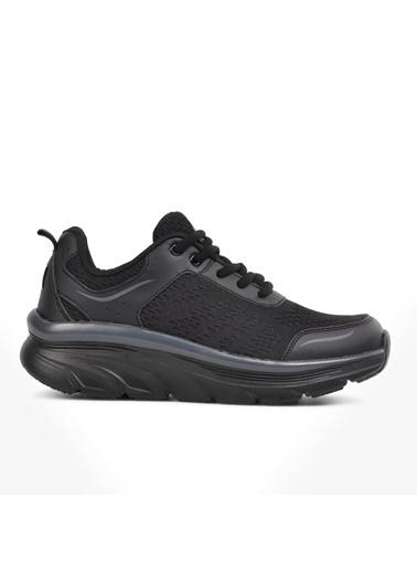Bestof Bestof Bst-081 Siyah-Siyah Fileli Kadın Spor Ayakkabı Siyah